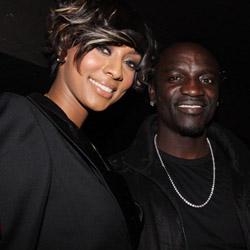 Ca sĩ Akon,Keri Hilson