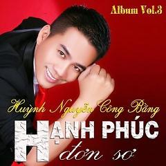 Ca sĩ Huỳnh Nguyễn Công Bằng